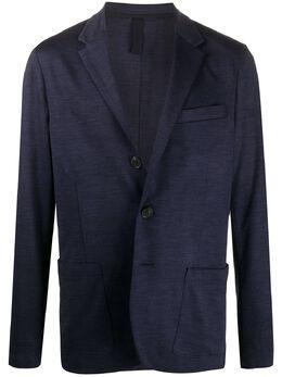 Harris Wharf London пиджак узкого кроя C7Y37MPP