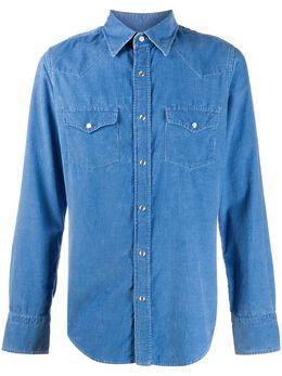 Tom Ford Western cotton denim shirt 8FT42594MEKI