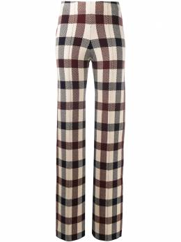 Victoria, Victoria Beckham checked trousers 2320KTR001441A