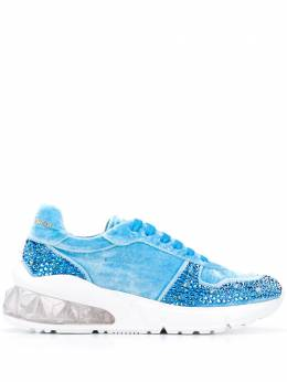 Philipp Plein Runner studded 20mm low-top sneakers F20SWSC1918PTE086N
