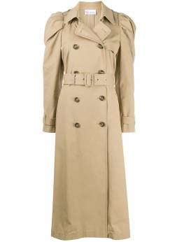 Red Valentino puff shoulder trench coat UR3CHA652R3