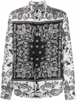 Versace Jeans Couture printed long-sleeved shirt EB1GZA6R2ES0859