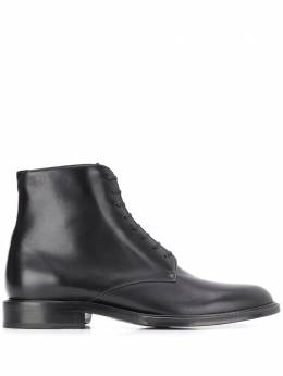 Saint Laurent Army laced ankle boots 6323581YL00