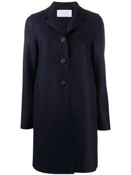 Harris Wharf London single-breasted wool coat A1215MLKB