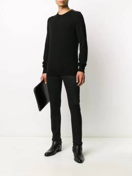 Givenchy 4G buttons cashmere jumper BM9047400N