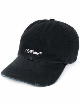 Off-White logo-embroidered baseball cap OMLB022E20FAB0041001
