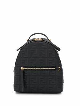 Fendi Double F embossed backpack 8BZ038A72V