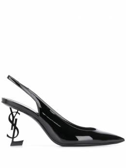 Saint Laurent Opium slingback 85mm pumps 6301080NPVV