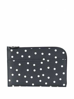Ganni polka dot clutch A2602