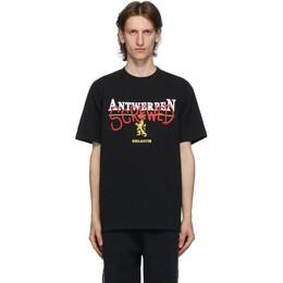 Vetements Black Antwerpen Screwed T-Shirt UAH21TR502