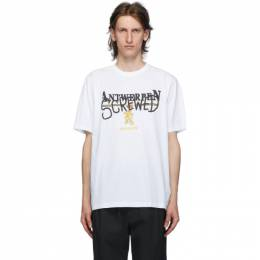 Vetements White Antwerpen Screwed T-Shirt UAH21TR502
