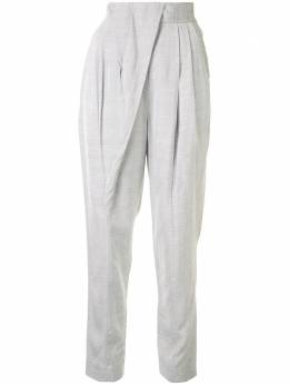 Proenza Schouler tapered pleated trousers R2026002