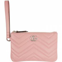 Gucci Pink GG Marmont 2.0 Wallet 598598 DTDCP