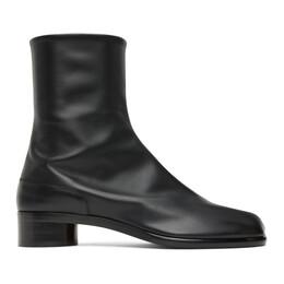 Maison Margiela Black Low Heel Tabi Boots S57WU0153 PR516 T8013