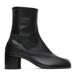 Maison Margiela Black Mid Heel Tabi Boots S57WU0132 PR516 T8013