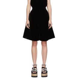 Cecilie Bahnsen Black Mille Shorts PF20-0019