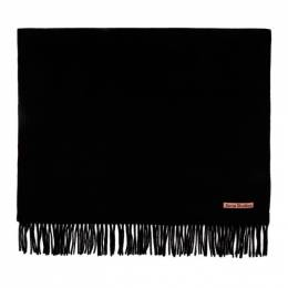 Acne Studios Black Oversized Scarf CA0102-
