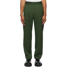 Han Kjobenhavn Green Tapered Trousers M-130186