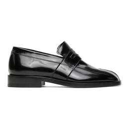 Maison Margiela Black Tabi Loafers S58WR0035 PS679