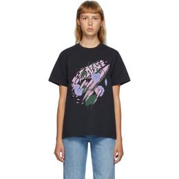 Ganni Black Rocket T-Shirt T2755