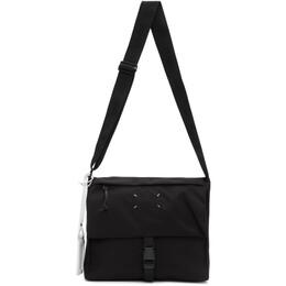 Maison Margiela Black 4-Stitches Flap Cross-Body Bag S55WG0114 PR253