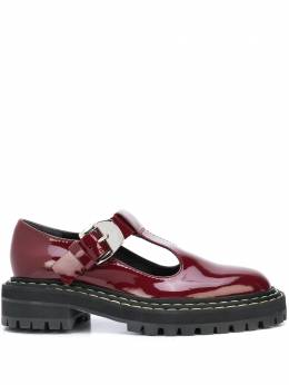 Proenza Schouler лакированные туфли Мэри Джейн PS35110A12011