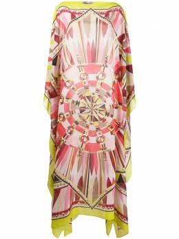 Emilio Pucci платье-кафтан с принтом 0RWL800R790