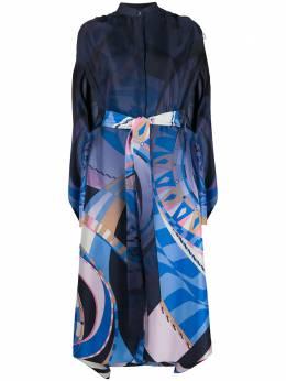 Emilio Pucci платье с абстрактным принтом 0RRH010R733