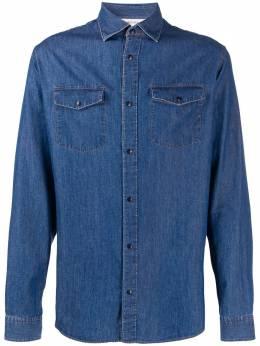Z Zegna джинсовая рубашка с длинными рукавами VU225ZCRC5