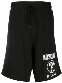 Moschino спортивные брюки с логотипом J03477027