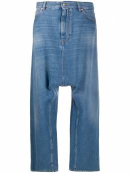 Mm6 Maison Margiela джинсы широкого кроя с низким шаговым швом S52LA0134S30460