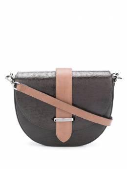 Brunello Cucinelli сумка через плечо с эффектом металлик MBBFD2015C6372