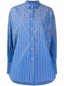 Ermanno Scervino рубашка оверсайз в полоску D362K380DOG