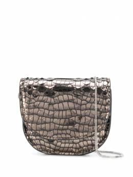 Brunello Cucinelli мини-сумка с тиснением под кожу крокодила MBPPD2135C101