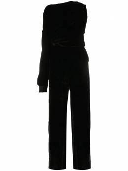 Mm6 Maison Margiela бархатный комбинезон на одно плечо S52FP0058S53086