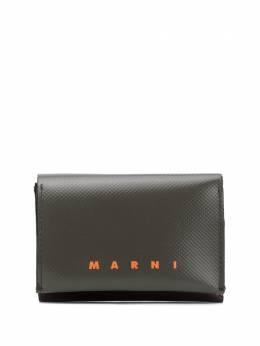 Marni two-tone logo print wallet PFMI0019A0P3572