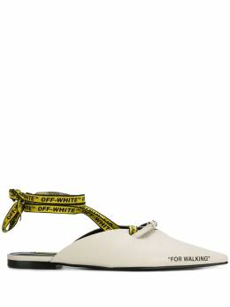 Off-White мюли 'For Walking' OWIA091S189900160200