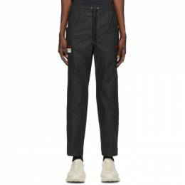 Gucci Black Waterproof Cargo Pants 604171 XDBCH
