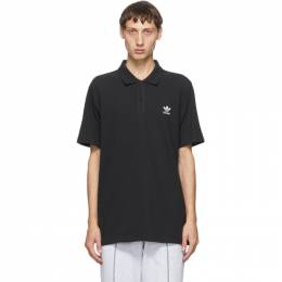 Adidas Originals Black Trefoil Essentials Polo GD2551