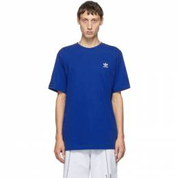Adidas Originals Blue Trefoil Essentials T-Shirt GD2538
