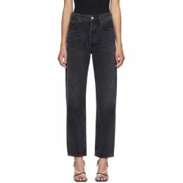 Agolde Black 90s Mid Rise Jeans A069B-1157