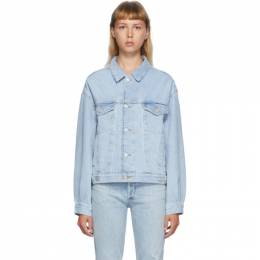 Agolde Blue Denim Charli Jacket A5010-778