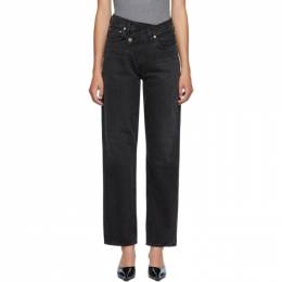 Agolde Black Criss Cross Jeans A097-1157