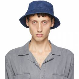 Saturdays Nyc Indigo Denim Earl Bucket Hat M32009EL01