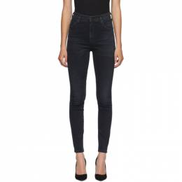 Citizens Of Humanity Black Chrissy Skinny Jeans 1611-1148