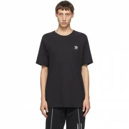 Adidas Originals Black Trefoil Essentials T-Shirt FM9969