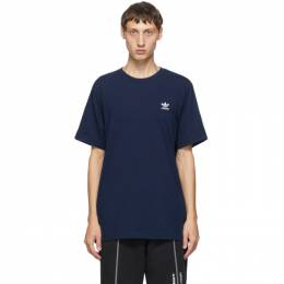 Adidas Originals Navy Trefoil Essentials T-Shirt GD2542