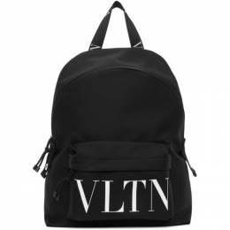 Valentino Black Valentino Garavani VLTN Backpack UY2B0993YHS