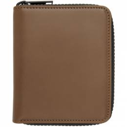 Maison Margiela Brown Zip-Around Wallet S55UI0197 PS935P3465