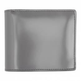 Maison Margiela Grey Leather Bifold Wallet S35UI0435 P2714
